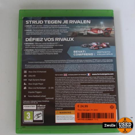 Xbox one spel | F1 2019