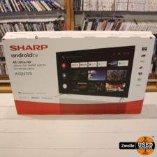 Sharp 4K Android Smart TV 55