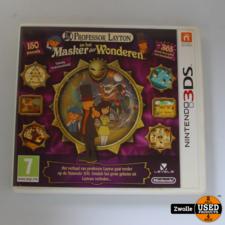 3DS spel | Professor Layton en het Masker de wonderen