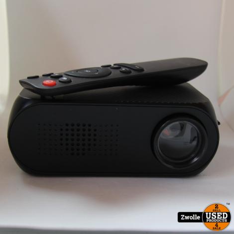 Mini Beamer | | Sdkaart ondersteuning | HDMI | Zwart