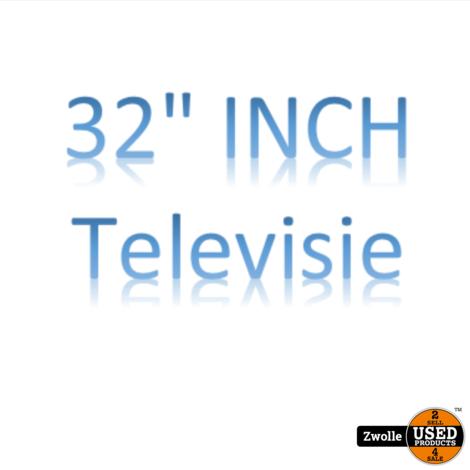 Phillips TV 32 Inch | Met Afstandsbediening