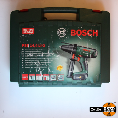 Bosch PSE 14,4 LI-2 Boormachine | In koffer
