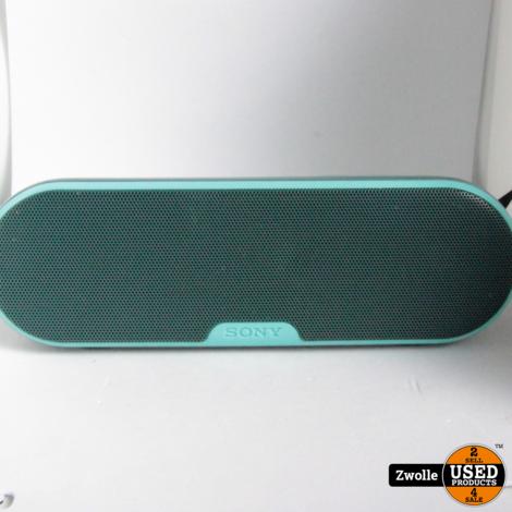 Sony speaker Groen
