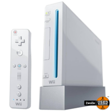 Wii console wit   Compleet met controller