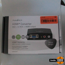 Nedis VGA-naar-HDMI™-Converter   1-Wegs - VGA + 2x