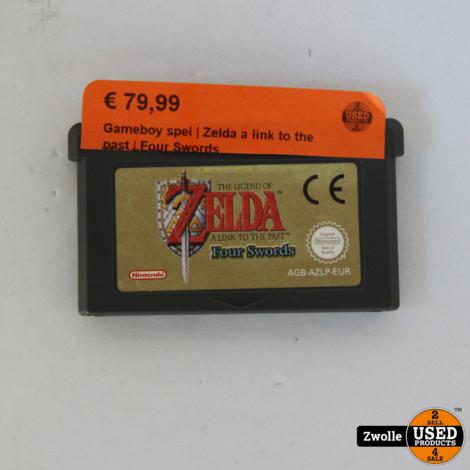Gameboy spel   Zelda a link to the past   Four Swords