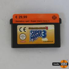 nintendo Gameboy game   Super mario bros 3