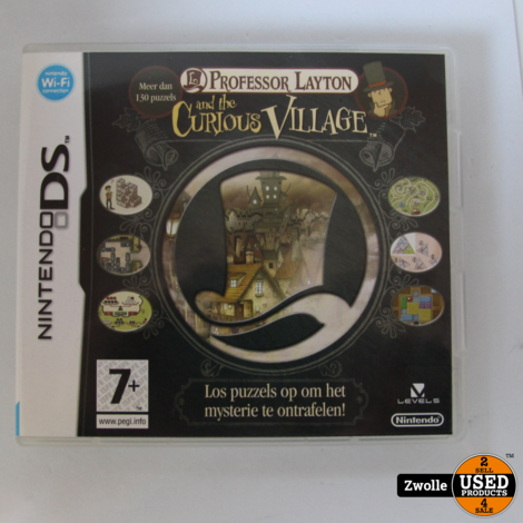 Nintendo DS Game | Professor Layton And The Curious Village