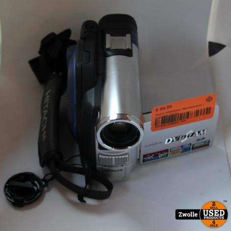 Hitachi filmcamera | Met fotofunctie | Compleet met tas