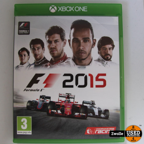 Xbox one Game | F1 2015