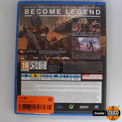 PS4 Game | Destiny