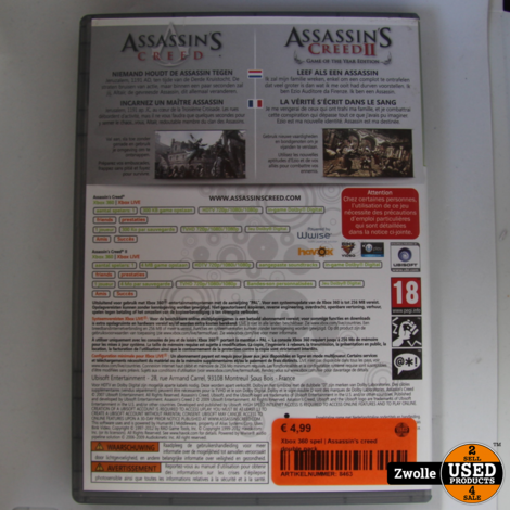 Xbox 360 spel | Assassin's creed double pack