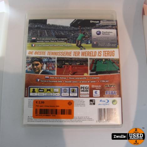 -PS3 spel | Virtua tennis 2009