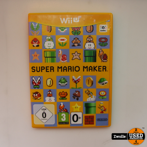 Wii U spel   Super mario maker