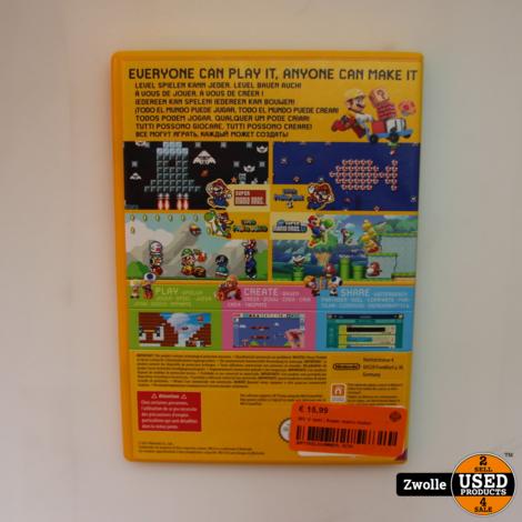 Nintendo Wii U game | Super mario maker