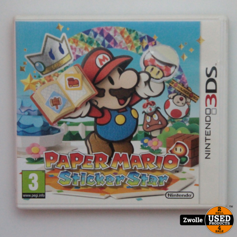 Nintendo 3DS game | Paper mario sticker stars