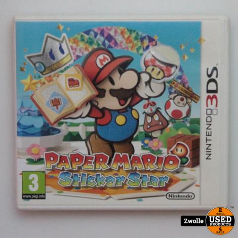 Nintendo 3DS spel   Paper mario sticker stars