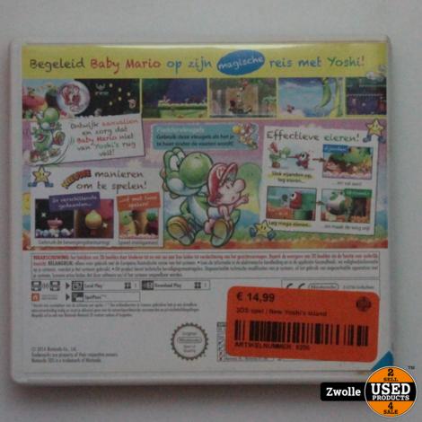 3DS spel   New Yoshi's island