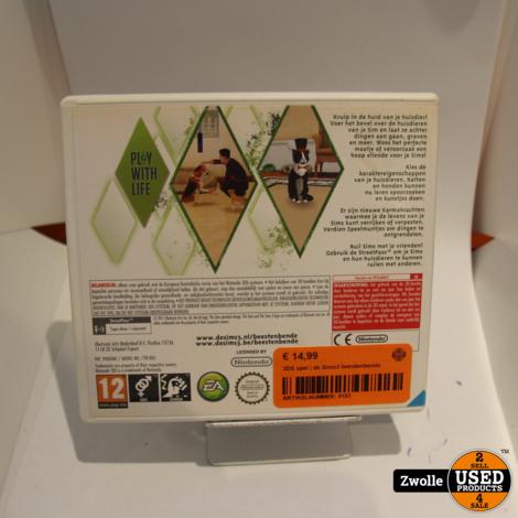 3DS spel | de Sims3 beestenbende
