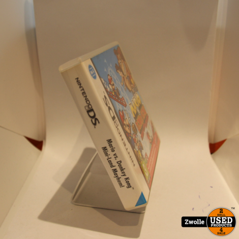 Nintendo DS spel   Mario vs Donkey kong mini-land Mayhem