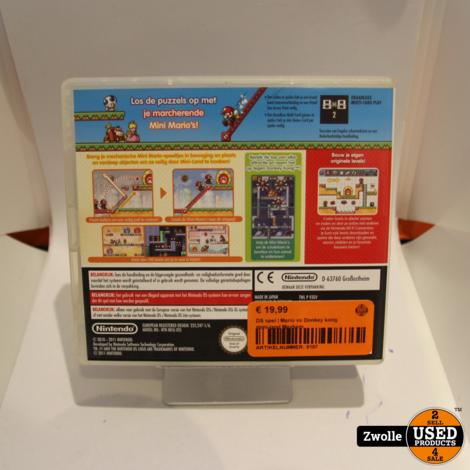 DS spel | Mario vs Donkey kong mini-land Mayhem