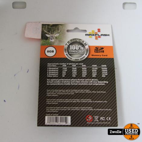 8GB SD kaart || nieuw