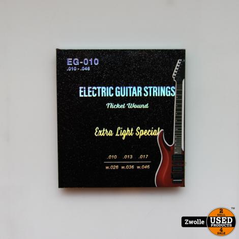 Elektrische gitaar snaren   EG-010