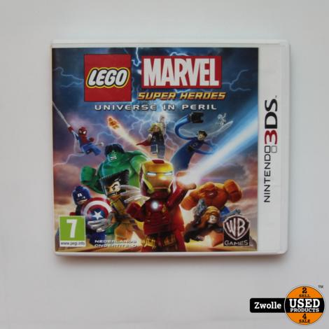 Nintendo 3DS spel   LEGO Marvel super heroes