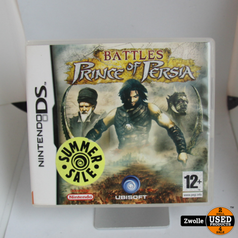 Nintendo DS game | Prince of persia