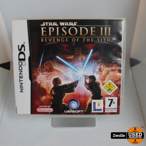 Nintendo DS spel   Star wars Revenge of the sith