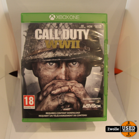 call of duty WWII || Xbox one game