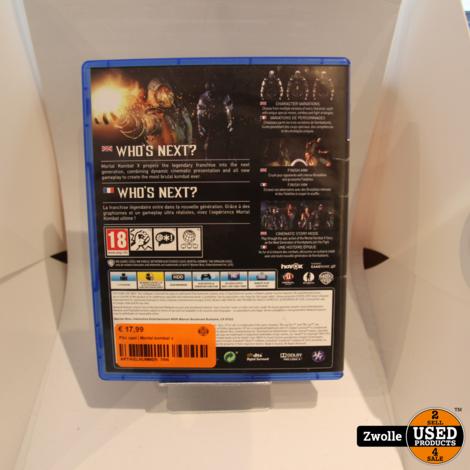 PS4 game | Mortal kombat x