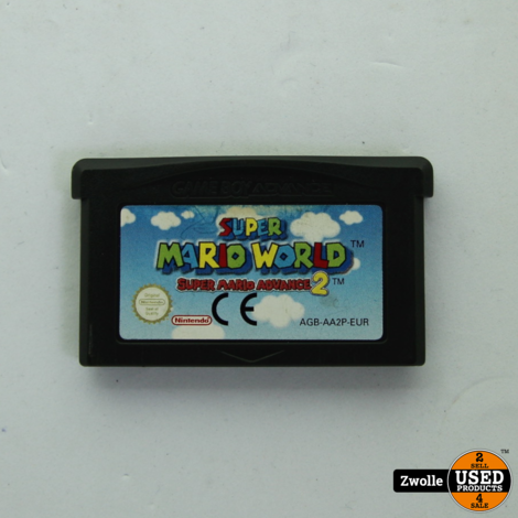 Gameboy Advance game Super Mario World 2 | Super Mario Advance 2