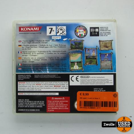 Nintendo DS spel | Lost in blue 2