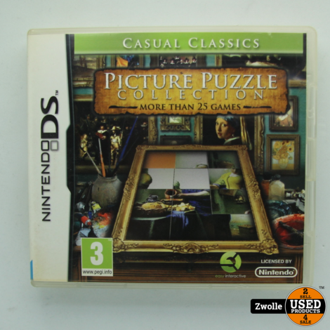 Nintendo DS spel | picture puzzle collection