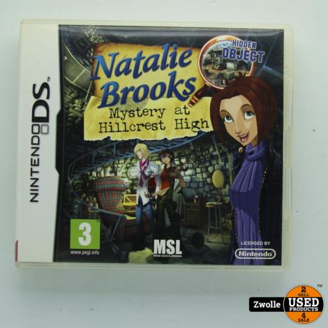 Nintendo DS spel | Natalie brooks mystry at hillcrest high