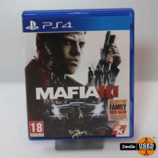 playstation Playstation 4 game MAFIA III