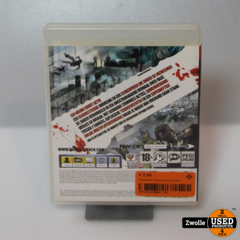 Playstation 3 game Kane & Lynch