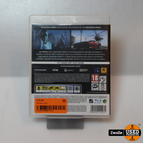 Playstation 3 game Grand Theft Auto V