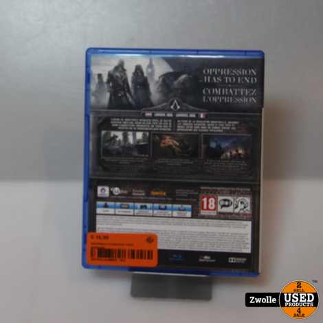 playstation 4 assassins creed syndicate
