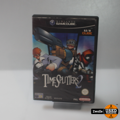 Gamecube game | Time splitters 2