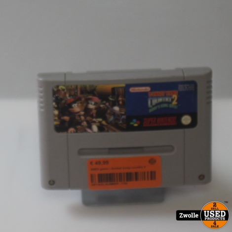 SNES game | Donket kong country 2