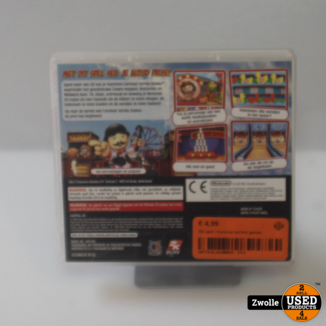 DS spel | Carnival kermis games