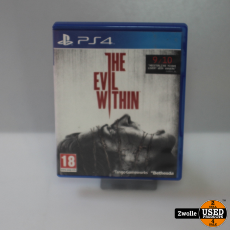 PS4 spel   The Evil Within