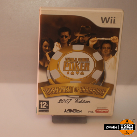 Wii Game | World Series Poker