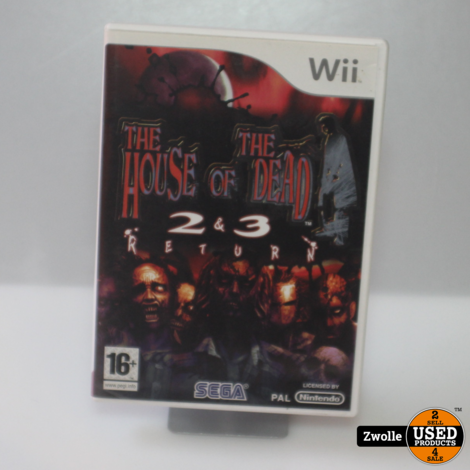 Wii Game | The House Of The Dead