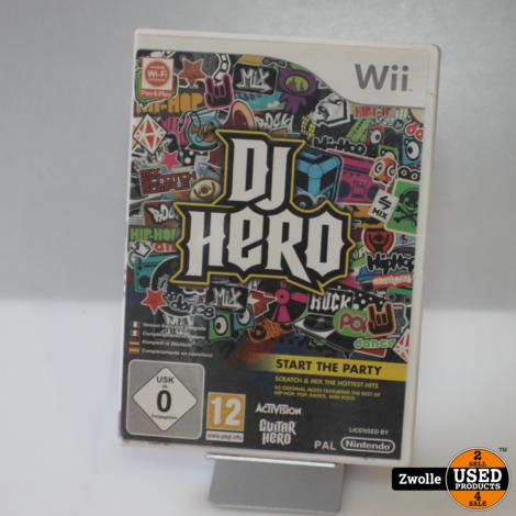 Wii game   DJ Hero Start the party