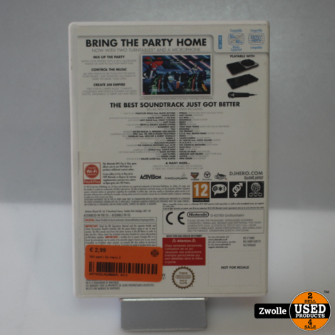 Wii spel | DJ Hero 2