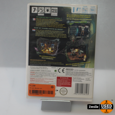 Wii spel | Monster Lab