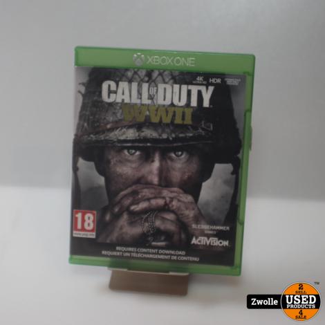 Xbox one spel | Call of duty WW2